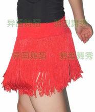 Exotic dance ballroom dancing Latin dance single long tassel dynamic Latin dance exercise small shorts S10049