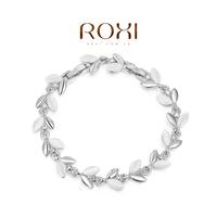 ROXI Gift Classic  top swiss zircon Crystals luxury platinum Bracelet