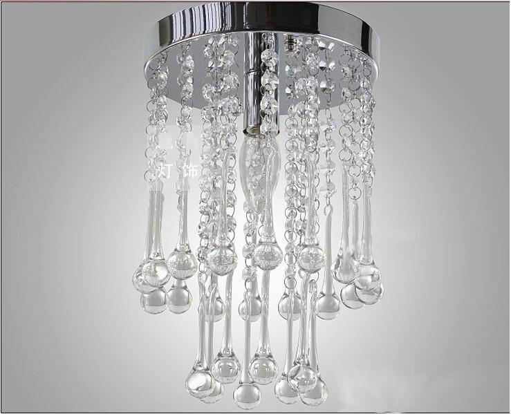 chandelier bedroom restaurants aisle 20cm diameter crystal lighting
