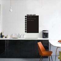butterfly shape blackboard removable and waterproof DIY wooden chalkboard  wall Sticker quadro negro of home decoration lousa