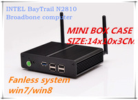 Quad-core N2920 fanless Intel NUC mini hd system computer