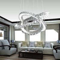 Hot sale Diamond Ring LED Crystal pendant Light 100% Guarantee +Free shipping 110-220V
