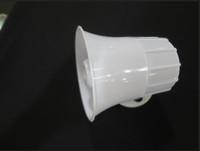 white 626 alarm siren horn DC6 to 24v, 320mA for burglarproof, free shipping warning siren