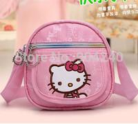 Brand Hello Kitty Bags Messenger Bags Purse Mini Handbag Shoulder Lovely School bag Cute Cartoon For Kids gift