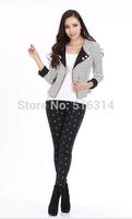women legging fitness punk style gothic american apparel Harajuku Gun /Work out print slim sexy sportwear free shipping