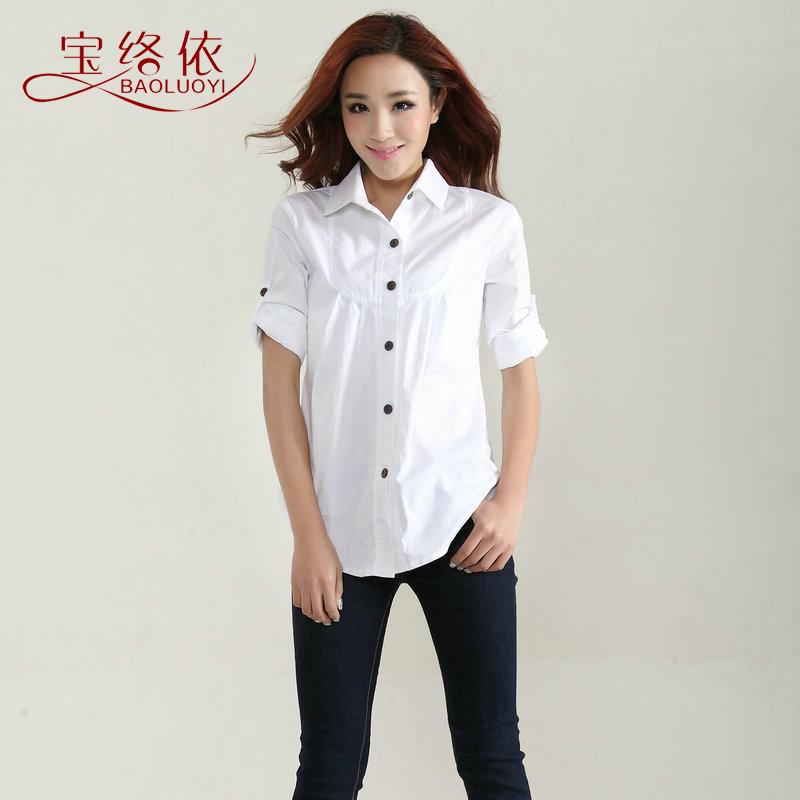 blusa plus size lxlxxl3xl4xl5xl( busto 96-126 cm) 2014 primavera e verão nova camisa de moda feminina blusa de forro xxxxxl xxxxxxl(China (Mainland))