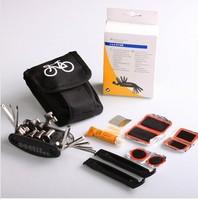 Bicycle multifunctional combination tool set repair tire repair tools [bag] repair tools