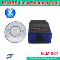 Wholesales OBD 2 Code Reader Scanner ELM 327 Bluetooth OBD Car Diagnostic Interface Scan Tool