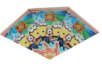 Despicable Me minions party decoration Despicable Me Minions Party pennant bunting flag banners Me minion party supplies