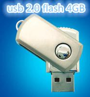 Swivel Metal Key Chain USB Flash Drive2gb 4gb 8gb 16gb Pen Drive Pendrive Card Memory Stick Drives Pendrives MicroData