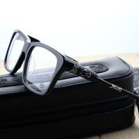 2015 Luxry Optical Brand Frame TNUC-A Silver Vintage Optical Frame Full Rim Eyeglass Frames Spectacle Frame Free shipping