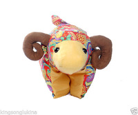 New Mascot Creative Cute Doll Year of the Goat Sheep Pillow&Cushion for Wedding