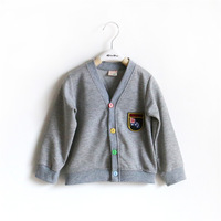 Retail New 2014 Autumn Children Outerwear, kids winter Coat, baby& kids jackets, girl's clothing gray girls coat free shipping