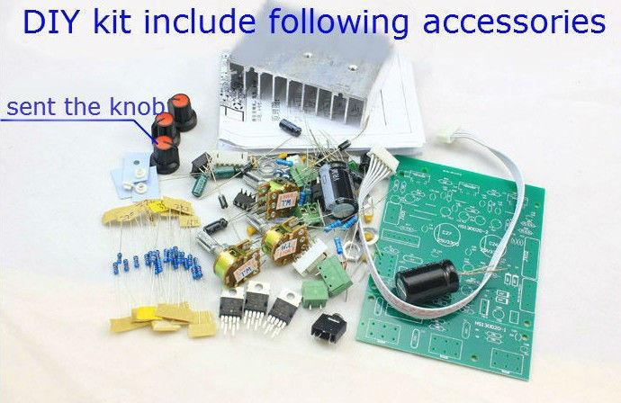 Sep_store novo Kit amplificador de TDA2030A 2.1 de 3 canais subwoofer Amplifier board DIY Kit(China (Mainland))