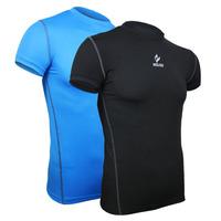 Men's t-shirt Speed dry tights running riding fitnes sport shirt athletics training fast perspiration men short sleeve