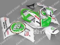 green white black for KAWASAKI ZX6R 636 03-04 ZX-6R 2003-2004 6R 03 04 ZX 6R 2003 2004 ABS motorcycle fairing kit