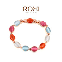 ROXI Gift Classic  for party  top swiss zircon Crystals luxury platinum Bracelet