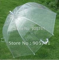 Hot Selling Fashion Apollo advertising Transparent Umbrella Clear Bubble Umbrella Gossip Girl Mushroom Umbrella Free Shipping
