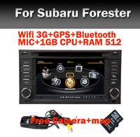 Wifi 3G Car radio DVD GPS for Subaru Forester with Bluetooth Radio RDS USB IPOD Steering Wheel Control PIP Free Camera+map