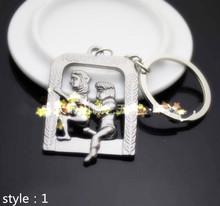 New 2015 Alternative Sexy Lover Metal Keychain Keyring Key Ring Chain Funny Toy