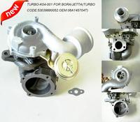 K04-001 Turbo upgrade for 1.8T Golf Beetle Jetta TT A3 GTI MK4 Turbocharger 300HP(TURBO CODE:53039880052.OEM:06A145704T)