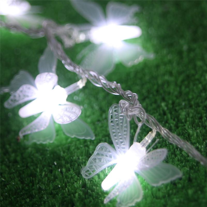 ... flasher 10 meter drie- dimensionale vlinder led string van de lichten