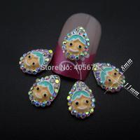 50pcs  2014 new nail decorations cute glitter nail art decoration alloy charms nail supplies MNS771