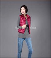 free shipping 2014 autumn winter female short down jacket wholesale ultra-thin collar women down jacket retail factory sales