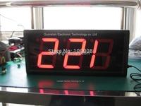 "Godrelish 4"" Red Led Couter 3digital led countdown timer"