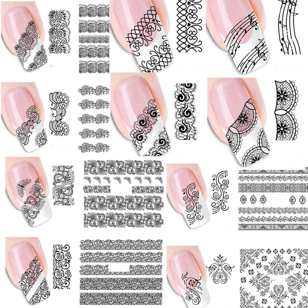 Наклейка на ногти своими руками