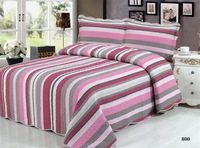 4pcs/set patchwork bedding set home textile good quality beadspread+pillowcase+duvet cover Free Shipping ZYGM811-826