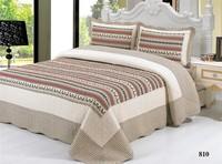 3pcs/set patchwork bedding set home textile 1pcs beadspread+2pcs pillowcase Free Shipping ZYGM