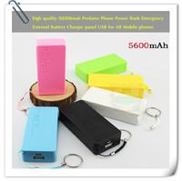 (1pcs0 high quality perfume (5600mAh) mobile phone power,emergency all mobile phone / tablet PC / digital camera powered