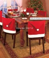 Cheap Price New Year Chair Cover Christmas Hats Gift Molding Christmas Decoration Supplies Santa Claus Navidad Enfeites De Natal