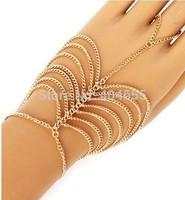 HA004 Wholesale 6pcs/lot Free shipping fashion hand bracelets  jewelry body chains necklace