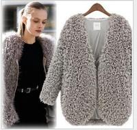 2014 New Women Autumn-winter Cardigans Fashion Winter Short Jacket Women Faux Woolen Coat Female jaqueta feminina YS9017