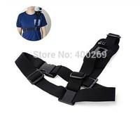 new Go pro4 accessories Adjustable Shoulder Strap belt For Go Pro Hero 4/3+/3/2/SJ4000 shoulder harness mount black GP211