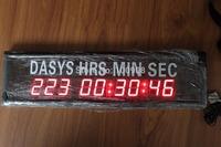 """Godrelish 1.8"""" Red Led Countdown Timer 9 digital Wall Clock Timer"""