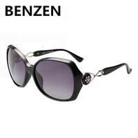 2015 Sunglasses Women Polarized  Oculos De Sol Feminino Retro Gafas De Sol  Flower Designer Sun Glasses Female With Case 6016