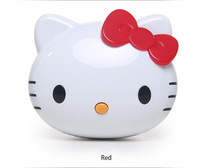 Free Shipping Hello kitty Power Bank Cartoon Cute 8800mAh Hello kitty PowerBank USB External Universal Battery Charger
