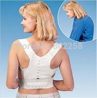 3pcs/lot New Power Magnetic Posture Support Corrector Back Belt Pain Feel Young Brace Shoulder for Sport Safety