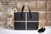 New Arrival Designer Handbags High Quality Cross Mens Genuine Leather Bags Casual Black Handbags For Man Famous Brands Bag