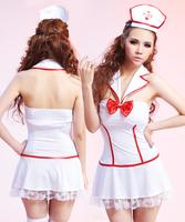 Free shipping Sexy nurse uniform costume performance wear ds1017