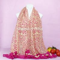 New Fashion cotton winter women scarves/shawls,Muslim wrap