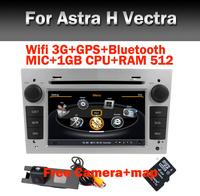 Wifi 3G Car radio DVD GPS for Opel H Antara Vectra Zafria Radio Bluetooth GPS Wifi 3G 1GB CPU 512 Ram Steering wheel Free camera