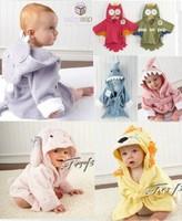 Free shipping !!Bath Wrap Hooded Towel 47cm New Baby Toddler boy girl Animal Funky Hippo Cloth 88440