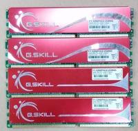 Free Shipping G.SKILL 1GB RAM 184-Pin DDR SDRAM  DDR 400/500 (PC 3200/4000) Desktop Memory Model with Heatsink