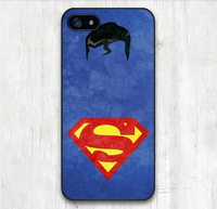 Superman Pattern Print Protective Cover Case For iPhone 6
