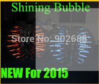 6pcs 1.2 M Shinning bumper ball  Bubble soccer Body Zorbing Free shipping big discount now !!