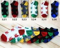 marijuana style brand DGK socks men women weed socks hip hop casual sport skateboard Ship sock calcetines meias masculinas men's